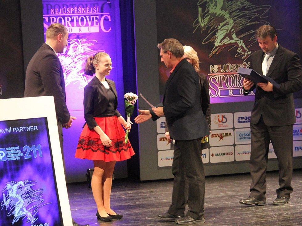Klára Štěpánová se stala absolutní vítězkou ankety Nejúspěšnější sportovec Novojičínska za rok 2016.