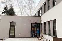 Rekonstruované a zmodernizované centrum PětKa v Kopřivnici by mělo zahájit provoz na přelomu května a června.