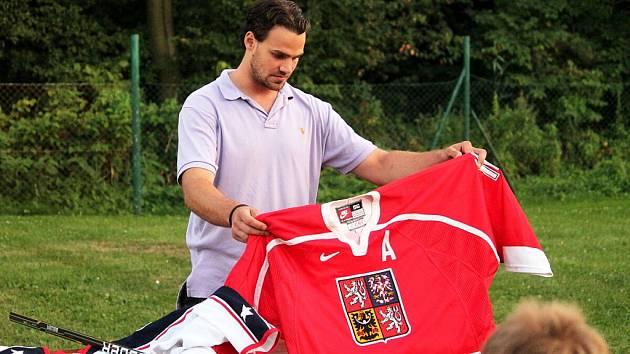 Kemp oderských nadějí se jmenuje tábor, ktreý se uskutečnil v Odrách v době od 20 do 24. srpna. Navštívil jej například hokejový reprezentant Rostislav Klesla.