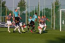 V 9. kole divize F Polanka doma porazila Frenštát 1:0.