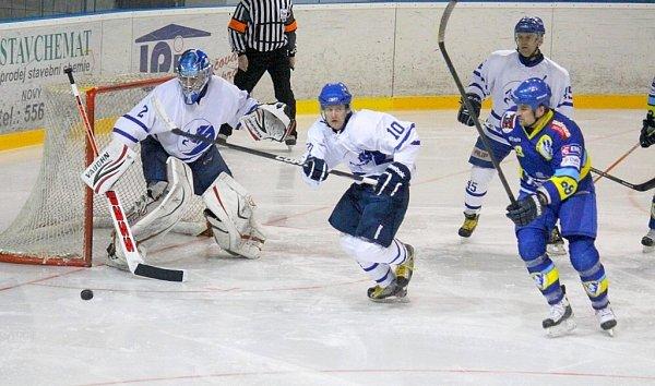 Snímky zutkání HC Nový Jičín - HC Zubr Přerov 2:1p (0:0, 0:1, 1:0-1:0).