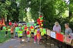 Děti se účastnily prvního třídění smíšeného odpadu v Příboře.