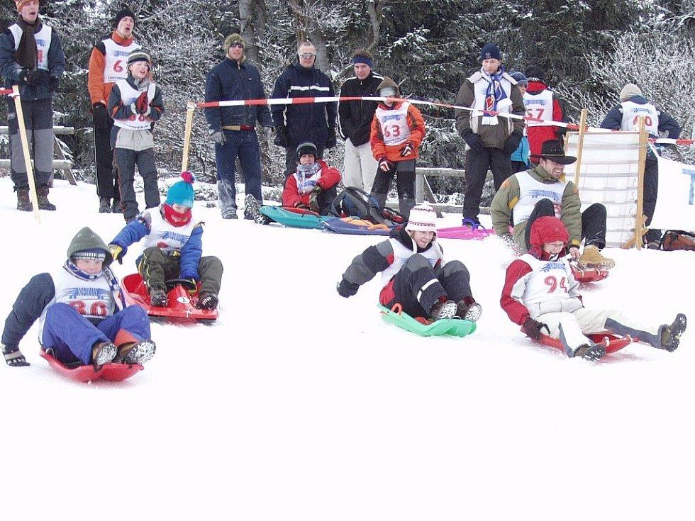 Už poosmé se o víkendu na vrcholu Pusteven konal světový šampionát v bobbingu.