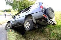 Takto dopadl vůz opilého řidiče. Čtvrteční jízda bezohledného mladíka z Frýdku-Místku skončila smrtí ženy z Bílovce.