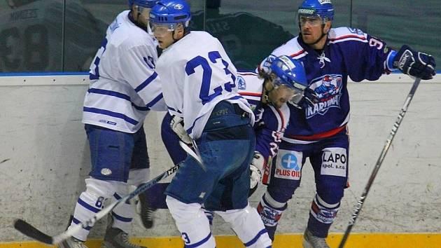 Snímky z utkání HC Nový Jičín - HC Karviná 4:2 (1:1, 1:1, 2:0).