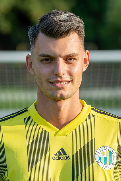 Fotbalový klub FC Kopřivnice, 24.září 2020.Daniel Huška - obránce