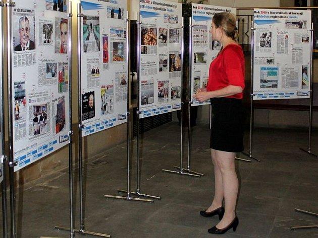 Výstava 15 let Moravskoslezského kraje. Ilustrační foto.