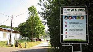 Kemp Lučina, červenec 2021