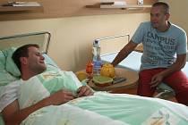 Václav Varaďa je už po operaci.