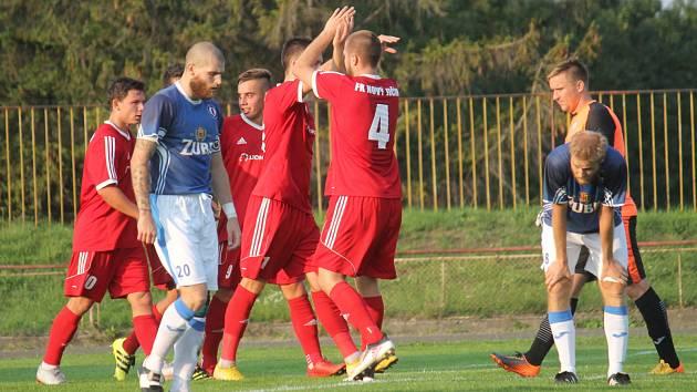 Fotbalisté Nového Jičína v závěru urvali vítězství.