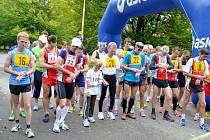 Běžecký závod v Novém Jičíně se pořadatelům vydařil.