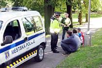 Oderská městská policie je na očích veřejnosti téměř neustále.