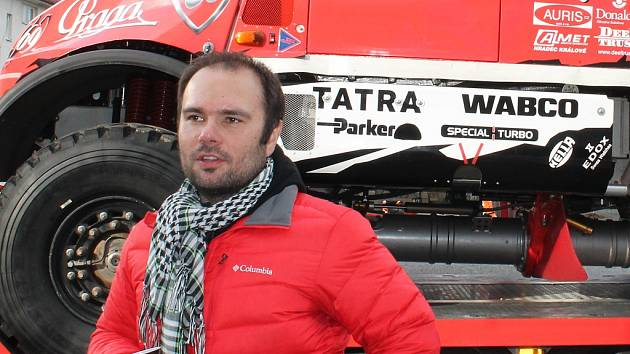 Závodník Aleš Loprais