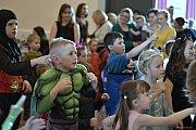 V pořadí již 9. dětský maškarní bál se uskutečnil v sobotu 23. března v Příboře.
