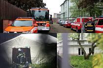 Ostatky dvou osob se našly ve vile na Dukelské ulici v Šenově u Nového Jičína.
