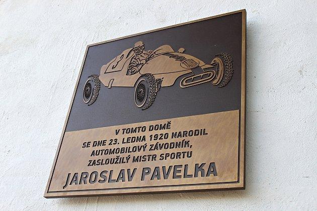 Sté výročí od narození automobilového závodníka a mistra republiky Jaroslava Pavelky si připomněli vsobotu 5.září 2020vLibhošti.