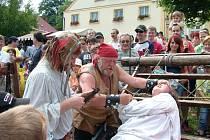Cyrilometodějské slavnosti ve Štramberku přinášejí každoročně mnoho zábavy.