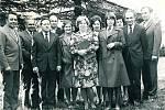 Petřvaldský sbor pro občanské záležitosti v roce 1978.