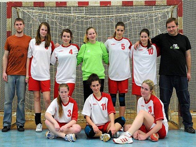 TÝM novojičínských házenkářek od letošní sezony reprezentuje klub ve 2. lize.