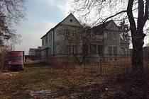 Peschlova vila v Šenově u Nového Jičína.
