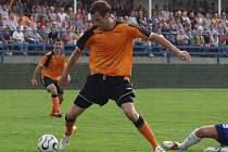 Třemi brankami popravil fulnecký útočník Ondřej Smetana bývalého chlebodárce, Vítkovice, v druhém kole druhé fotbalové ligy.