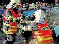Moravská brána, setkání hasičských sborů Polska a České republiky se uskutečnilo v Bílovci poprvé.