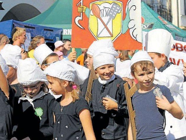 Nejlepší dětské kostýmy na městské slavnosti v Novém Jičíně ocení porota.