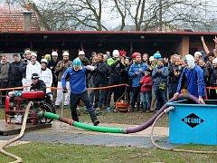 Mikulášská hasičská soutěž.