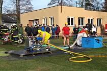 Čtyřiadvacátý ročník hasičské Mikulášské soutěže v Lukavci, místní části Fulenku, se vydařil i přes chladné počasí.