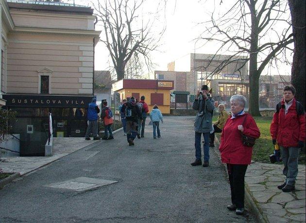 Muzeum v Šustalově vile v Kopřivnici.