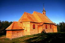 Kostel na Prašivé je spojován se zajímavou legendou.
