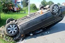 Opilý řidič daleko nedojel.