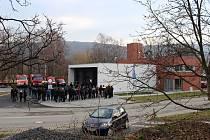 Novou hasičskou zbrojnici včera oficiálně otevřeli v Odrách.