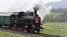 Parní lokomotiva Velký bejček.