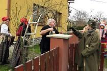 Masopustní průvod v Jerlochcovicích patří k tradicím.