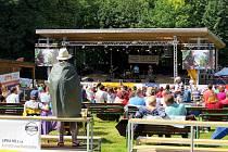 Multižánrovým festivale Horečky fest - Ilustrační foto.
