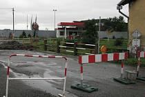 Čerpací stanici ve Studénce v úterý v podvečer přepadl lupič