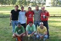 Vítězové čtvrtého ročníku Bidolido Cup 2007, hráči týmu Olpran Olomouc.