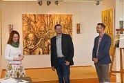Vystoupení Tria České filharmonie v pátek 24. května 2019 ve velkém sále frenštátského domu kultury. Doprovodný program zahrnoval i vernisáž výstavy obrazů malíře Dominika Petra.