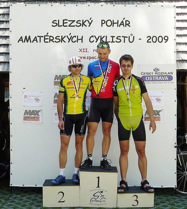 1. Tomáš Celta (Studio 2001 - MRX), 2. Pavel Kokeš (Racing Olešná F-M), 3. Marcel Baban (SDH Stonava)