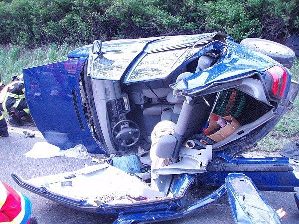 Vážná nehoda uLibhoště.
