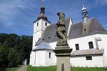 K Bravanticím neodmyslitelně patří kostel svatého Valentina.