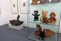 Výstava Návraty do dětství, Muzeum Novojičínska ve Frenštátě pod Radhoštěm, červenec 2021.