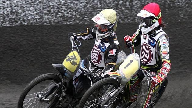 JOSEF FRANC z pražské Markéty (vlevo)