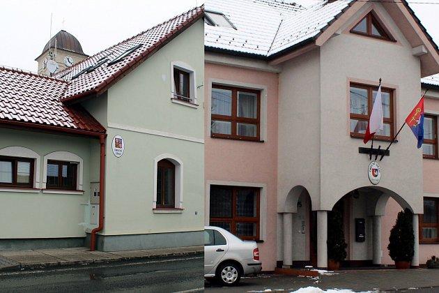 Obecní úřad v Petřvaldě je vzdálený od obecního úřadu v Mošnově jen čtyři kilometry.