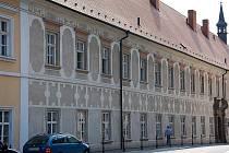 Od začátku září probíhá v západním křídle piaristického kláštera rekonstrukce knihovny. Jedná se o třetí etapu obnovy baroktní památky.