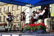 Hlavně folklórní muzice patřil v pátek 23. a v sobotu 24. května Frenštát pod Radhoštěm.