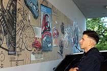 Hynek Tekula věnoval své graffiti lidem a událostem spojeným s Tatrou Kopřivnice. Hlavním námětem je konstruktér Hans Ledwinka.