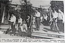 Oslavy výročí vzniku Pionýrské organizace se blížily.