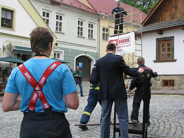 Štramberk patřil v sobotu 29. května hasičům. Na jeho náměstí a dominantě Trúbě se totiž konal další ročník závodu hasičského víceboje TFA Štramberská Trúba.